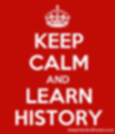 Keep Calm and lean history