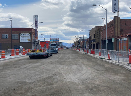 Virginia Street Construction Update