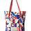 Thumbnail: Red Abstract Tote Bag