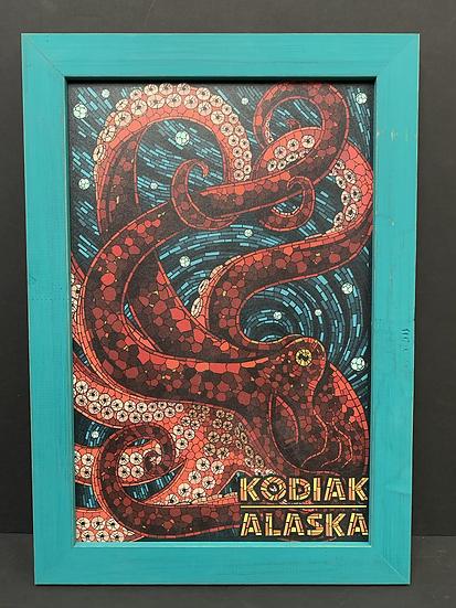 Kodiak Alaska Mosaic  Octopus