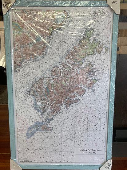 "Kodiak Island Borough Chart 29x47.5"""