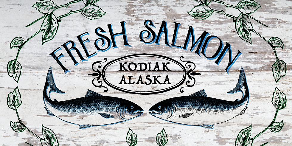 Vingate Salmon Sign