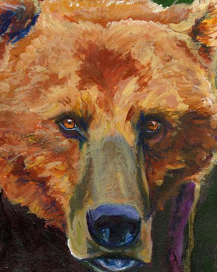 """""""Old Male Close Up"""" by Jennifer Culbertson"""