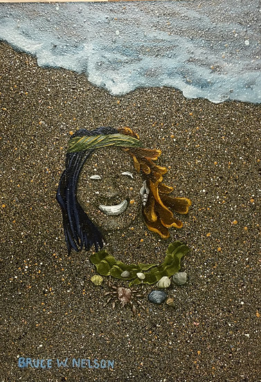 Beach gal  by Bruce Nelson
