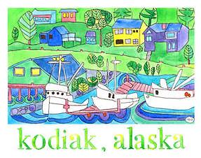 """Kodiak, Alaska"" by Natasha Zahn Pristas"