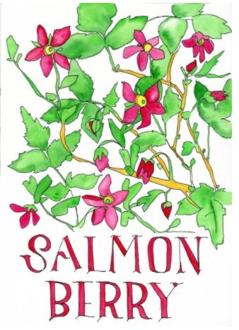 """Salmonberry"" by Natasha Zahn Pristas"