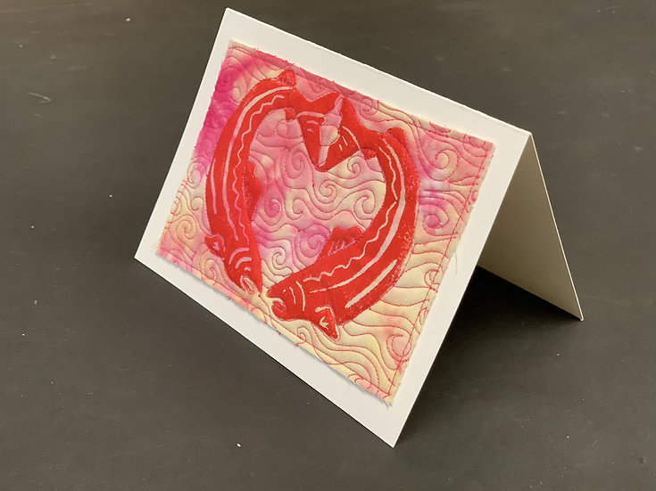 Valentines cards by Sally Troxell