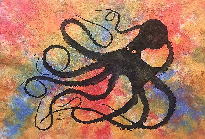 Sybille's Octopus by Ink Goes Wild