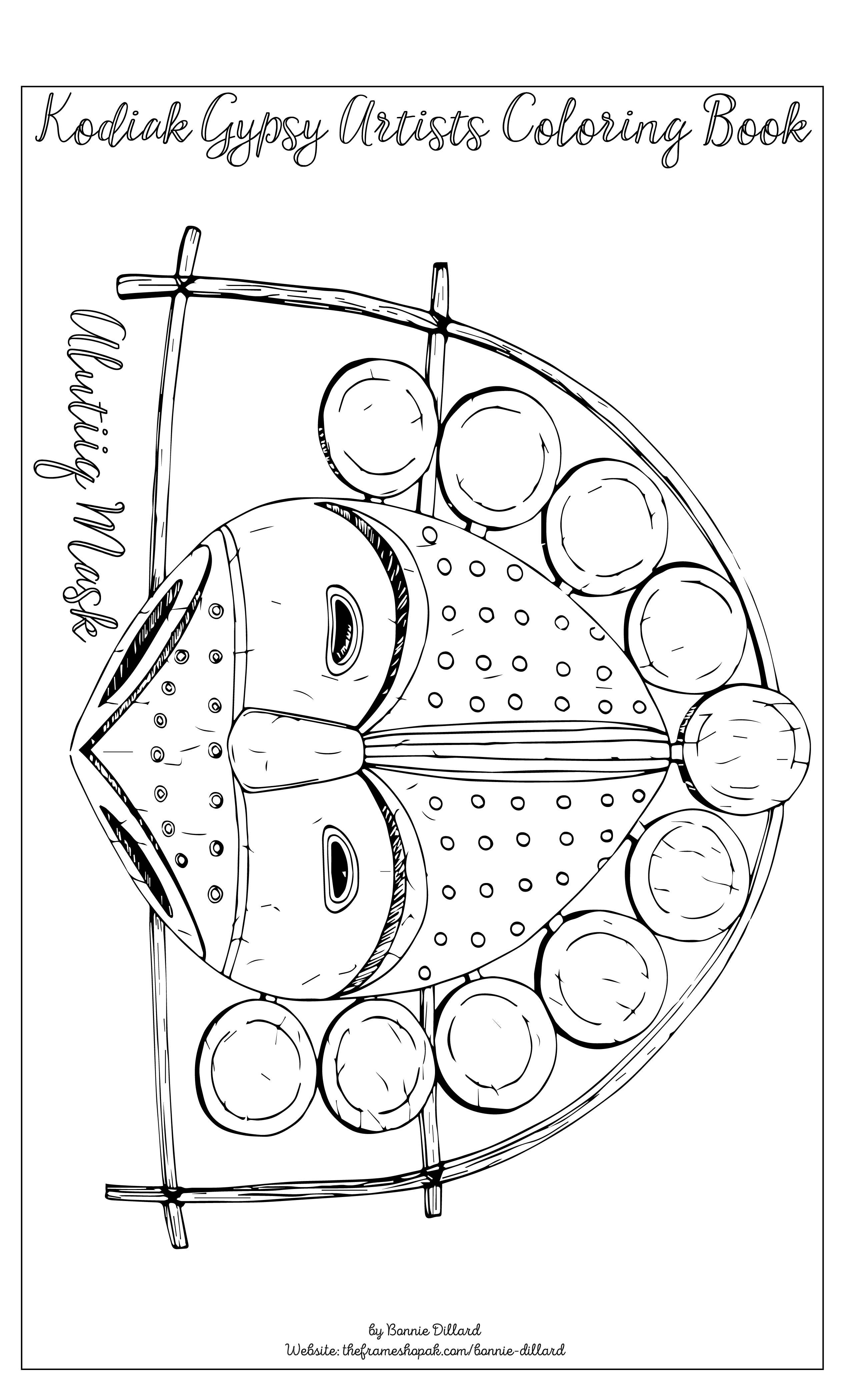 Bonnie Dillard Alutiiq Mask