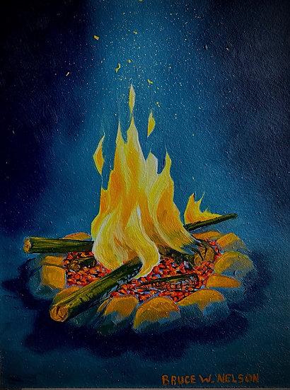 Campfire #1 by Bruce Neslon
