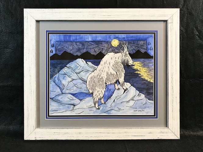 Amarie Young Moonlight Goat