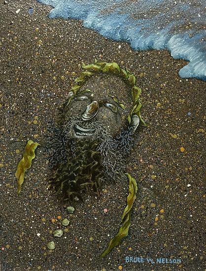 Beach Dude  by Bruce Nelson