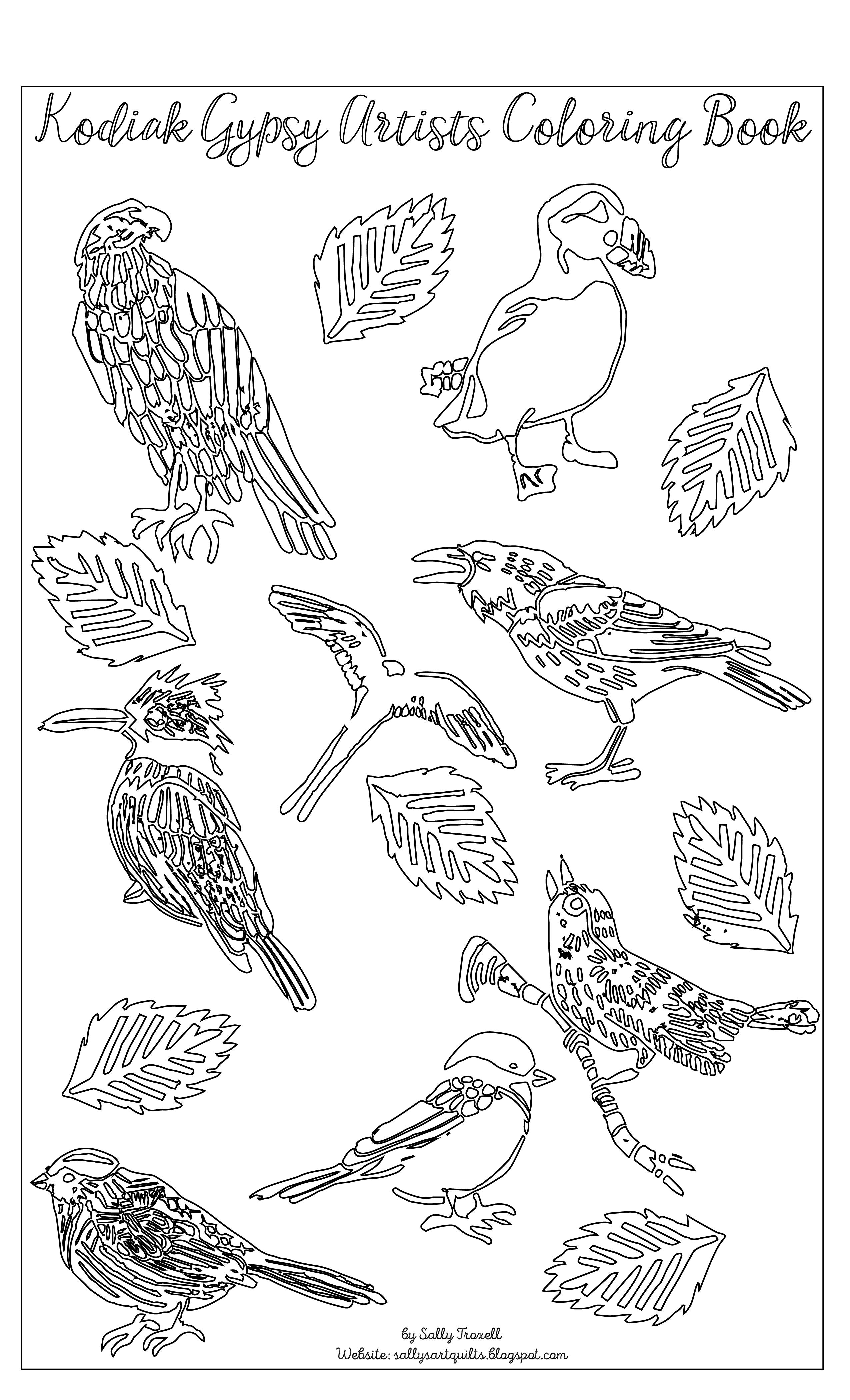 Sally Troxell Kodiak Birds