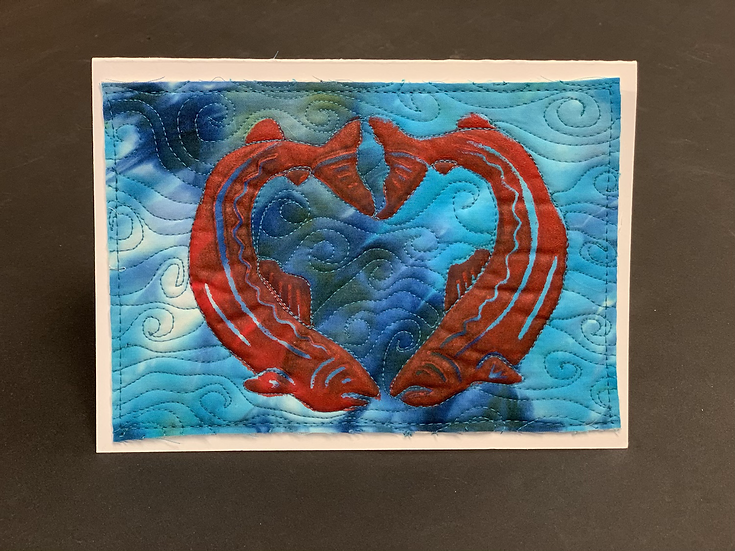 Valentine Card by Sally Troxell