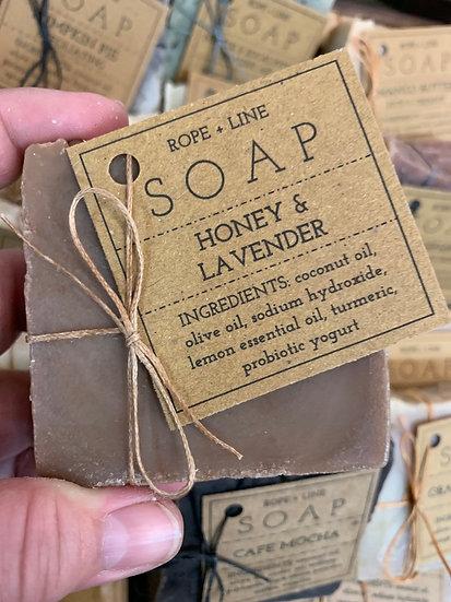 Honey Lavender Soap
