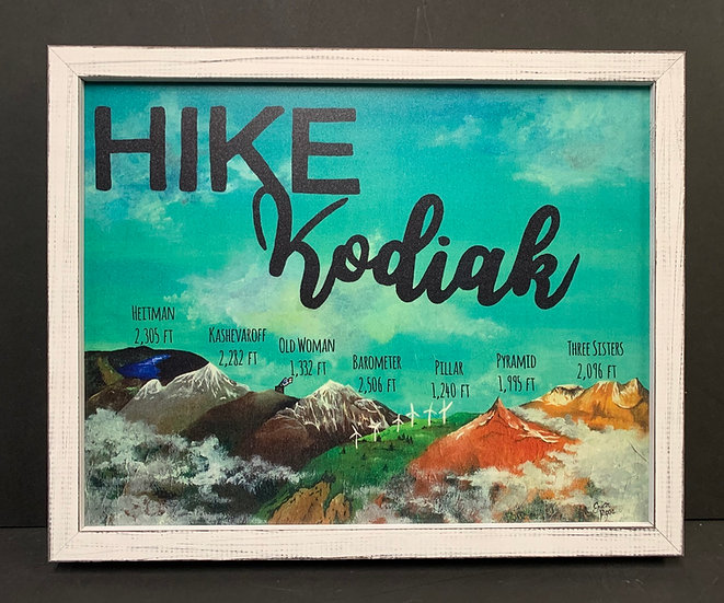 Hike Kodiak by Erica Ross