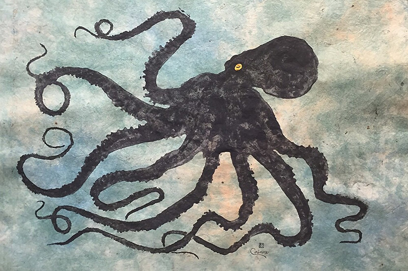 Octopus #6 by Ink Goes Wild