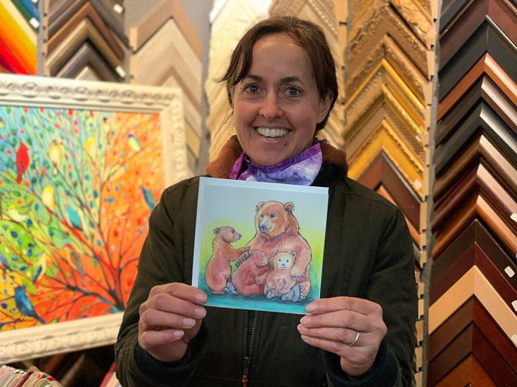 Happy Mothers Day card by Jennifer Culbertson