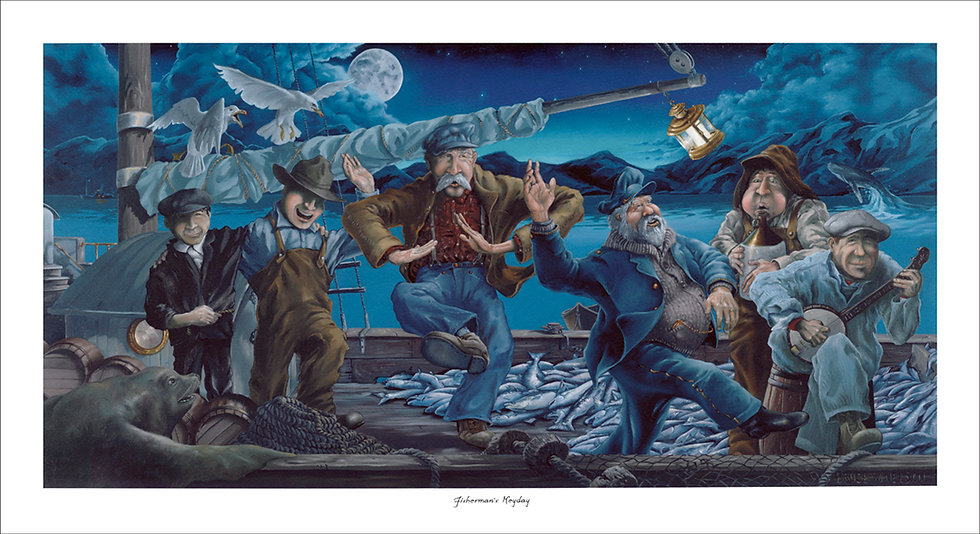 Fisherman's Heyday by Bruce Nelson