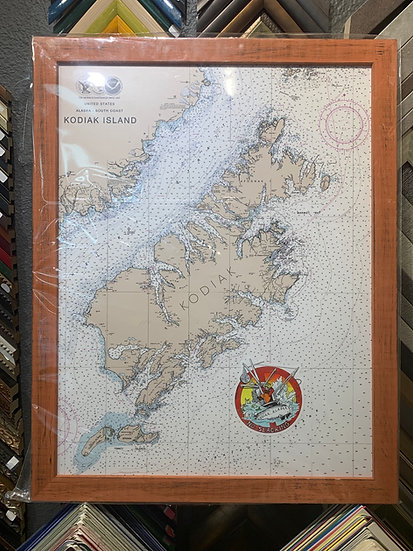Kodiak Nav Chart 20x26