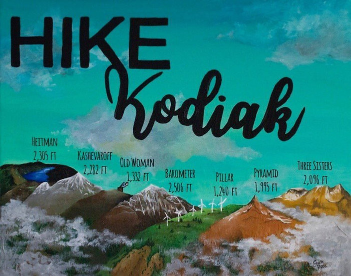 """Hike Kodiak"" by Erica Ross"
