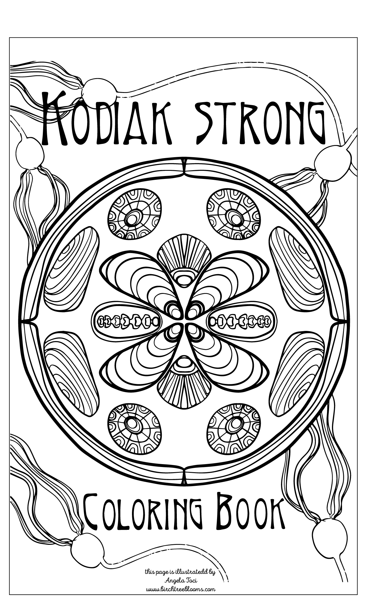 Angela Toci Kodiak Strong Cover