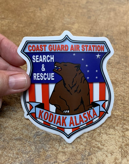 Air Station Kodiak Search & Rescue - TFS Sticker