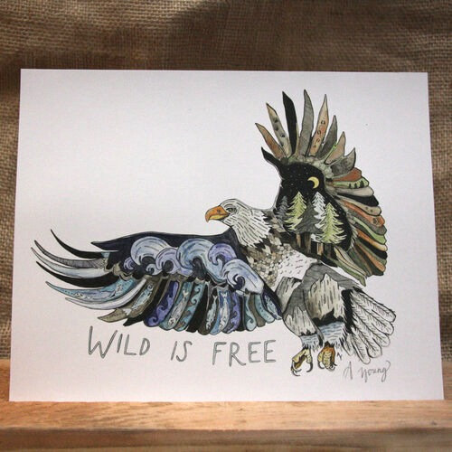 """""""Wild is Free"""" by Amarie Young"""