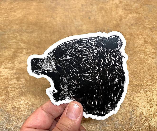 Bear Roar - TFS Sticker