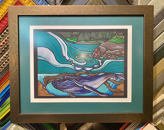 """Framed print """"Muscle ships"""" by Velissa Higman"""
