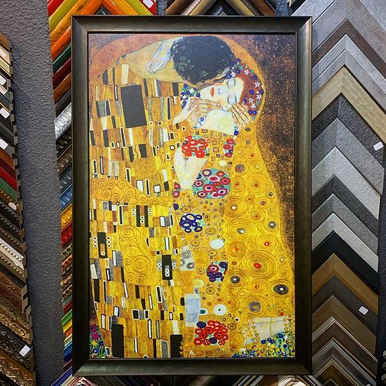 "Framed ""The Kiss""by Gustav Klimpt"