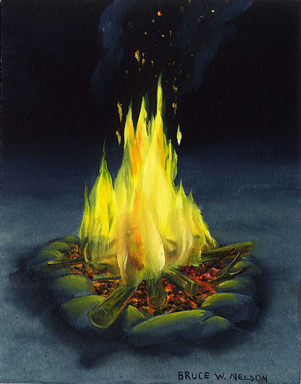 Campfire #3 by Bruce Nelson