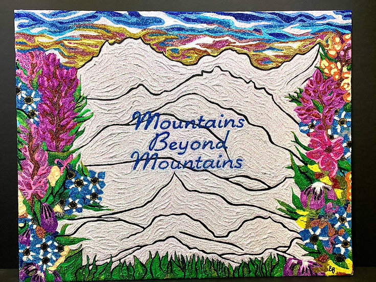 """Mountains Beyond Mountains"" by Erica Ross"