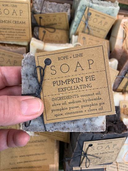 Pumpkin Pie Exfoliating Soap