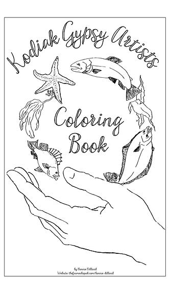 Kodiak Gypsy Artist Coloring Book