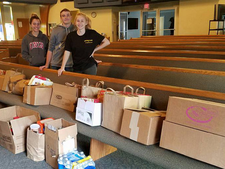 Local Students Run Third Food Drive