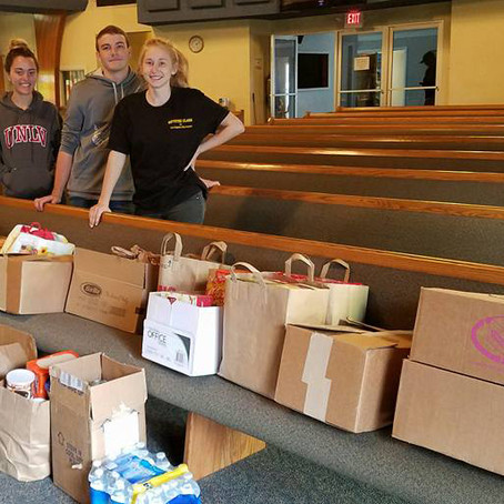 Local Students Run ThirdFood Drive
