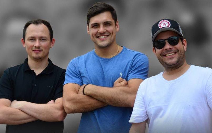 Leocir Carneiro, Thiago Grigoletti e Guilherme Moura. Jogadores profissionais de Poker e donos do Step Team, time de poker profissional brasileiro.
