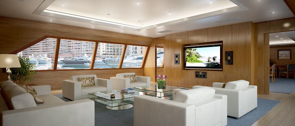 Model М на яхте