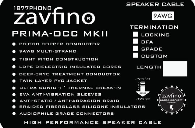 технические характеристики Zavfino Prima