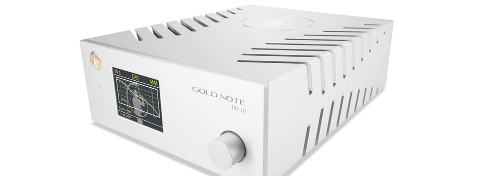 Gold Note PH-10 фонокорректор с гибкими настройками, серебристый