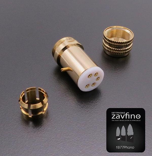 Zavfino tad classic - разъем DIN кабеля тонарма