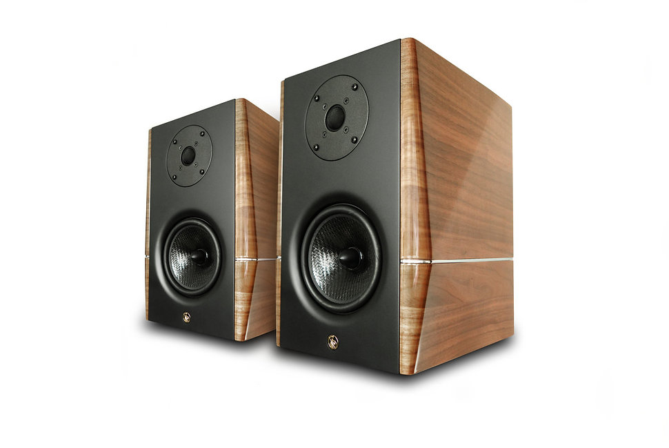 High-End полочные акустические системы Gold Note A3 EVO - орех