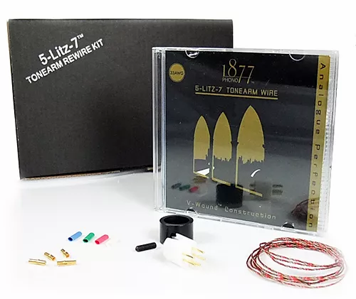 Zavfino Rewire kit - проводка тонарма для апгрейда.