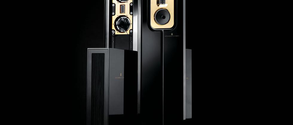 Steinway Lyngdorf Model C напольные дипольные акустические системы