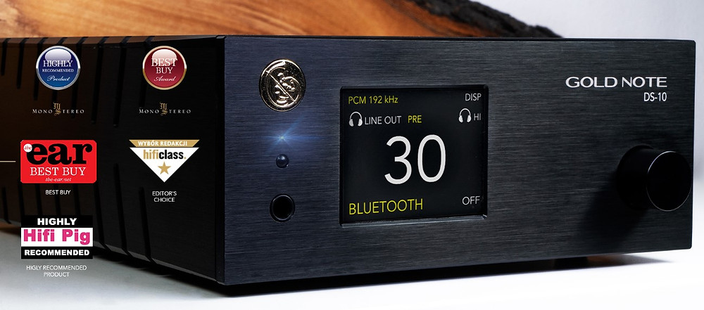 High-End стример Gold Note DS-10.