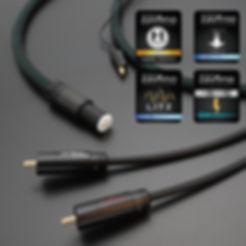Zavfino HighLands - фонокабель для проигрывателей пластинок. Проводники из чистого серебра.