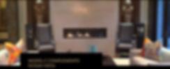 Steinway Lyngdorf Model C заказные с встроенными басовыми динамиками, High-End акустика в интерьере восточной гостиной, черный лак и золото,