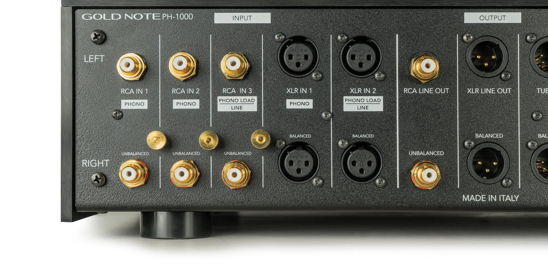 PH-1000 - задняя панель