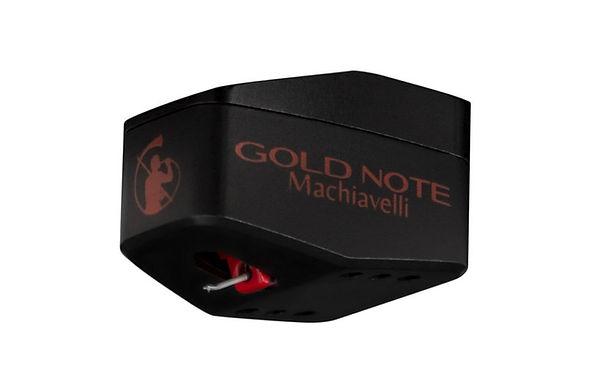 Gold Note Machiavelli Red - лучшая МС головка звукоснимателя с высоким выходным уровнем